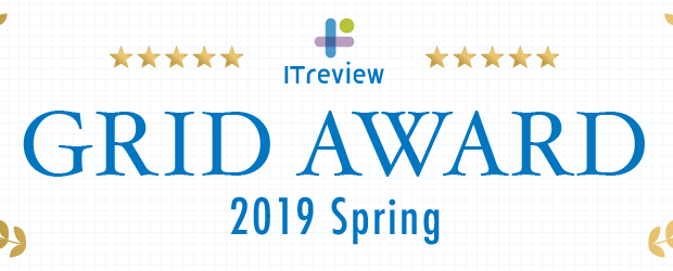 ITreview Grid AWARD 2019 Spring